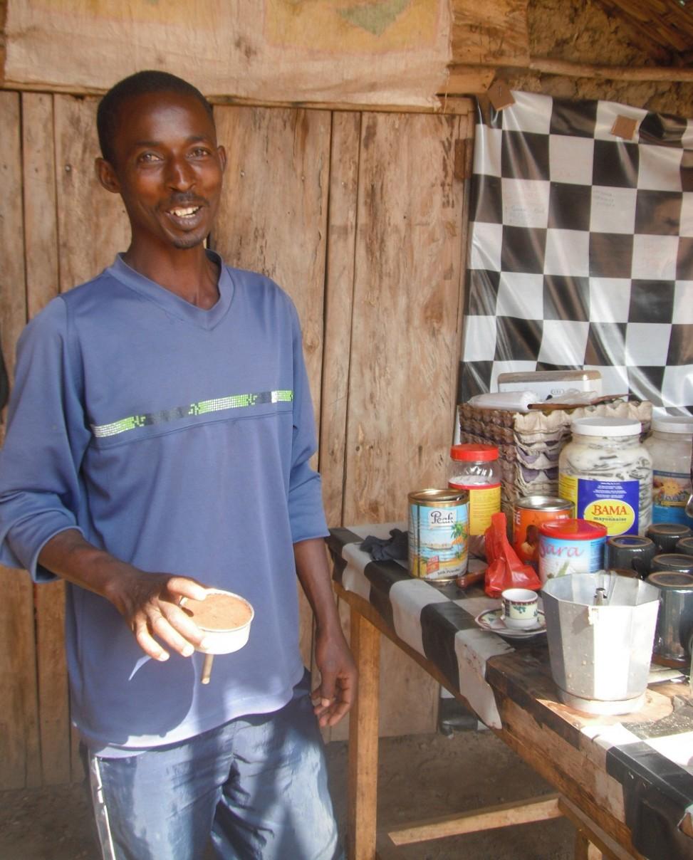 Cafe in Sierra Leone